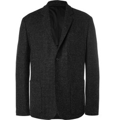 Margaret Howell Grey Harris Wool-Tweed Blazer