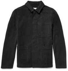 - MHL Cotton-Moleskin Jacket