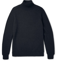 Margaret Howell Wool Mock Neck Sweater
