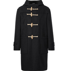 Margaret Howell MHL Melton Wool Hooded Duffle Coat