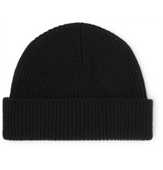 Margaret Howell Ribbed Wool And Cashmere-Blend Beanie