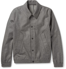 AMI Slim-Fit Wool-Blend Blouson Jacket