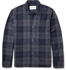 Our Legacy Checked Cotton-Flannel Overshirt