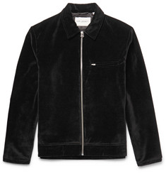 Our Legacy Cotton-Velvet Jacket