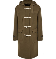 Our Legacy Extended Wool-Blend Hooded Duffle Coat