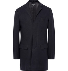 Tomorrowland Melton Wool-Blend Overcoat