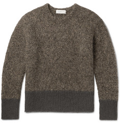 Tomorrowland Mélange Alpaca-Blend Sweater