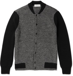 Tomorrowland Mélange Wool and Alpaca-Blend Cardigan