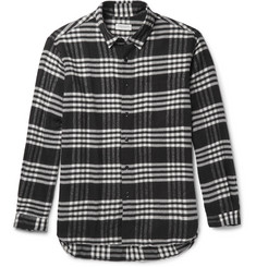 Tomorrowland Plaid Cotton-Flannel Shirt