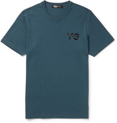 Y-3 Slim-Fit Printed Cotton-Jersey T-Shirt