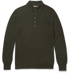 Bottega Veneta - Slim-Fit Wool Polo Shirt
