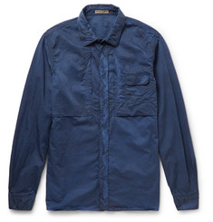 Bottega Veneta Slim-Fit Garment-Dyed Cotton Shirt