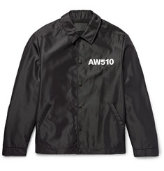 Alexander Wang Printed Shell Coach Jacket