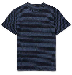 Alexander Wang Slim-Fit Mélange Striped Linen T-Shirt