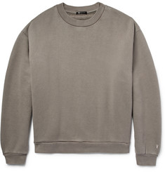 Alexander Wang T By Alexander Wang Oversized Cotton-Blend Jersey Sweatshirt