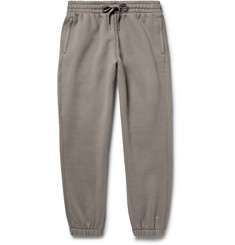 Alexander Wang T By Alexander Wang Wide-Leg Cotton-Blend Jersey Sweatpants