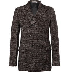 Bottega Veneta Double-Breasted Wool-Blend Tweed Blazer