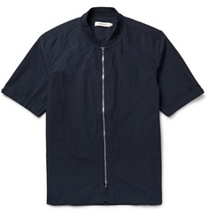 nonnative Rancher Slim-Fit Washed Cotton and Linen-Blend Shirt