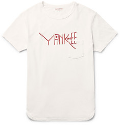 nonnative Printed Cotton-Jersey T-Shirt