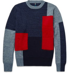 OAMC Intarsia Wool-Blend Sweater