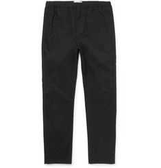 OAMC Tapered Drawstring Cotton-Blend Trousers