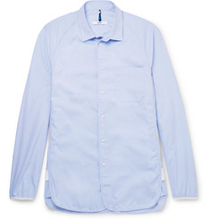 OAMC Grosgrain-Trimmed Cotton Shirt