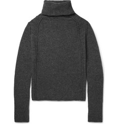 Isabel Benenato Merino Wool-Blend Rollneck Sweater