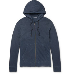 James Perse Supima Cotton-Jersey Zip-Up Hoodie