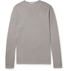 James Perse Washed Cotton-Jersey T-Shirt