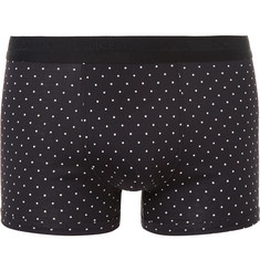 Dolce & Gabbana Polka-Dot Cotton Boxer Briefs