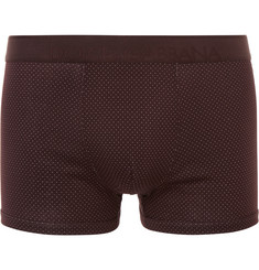 Dolce & Gabbana Micro-Dot Cotton Boxer Briefs