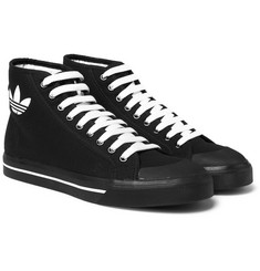 Raf Simons - + adidas Originals Spirit Canvas High-Top Sneakers