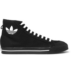 Raf Simons + adidas Originals Spirit Canvas High-Top Sneakers