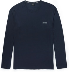 Hugo Boss Stretch-Modal Jersey Pyjama Top