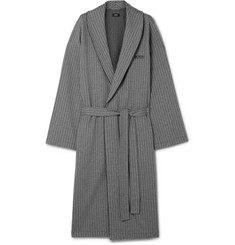 Hugo Boss Herringbone Cotton Robe