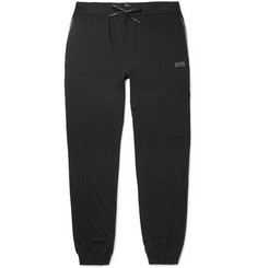 Hugo Boss Slim-Fit Tapered Stretch-Cotton Jersey Sweatpants