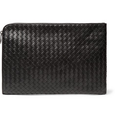 Bottega Veneta Intrecciato Leather Document Case