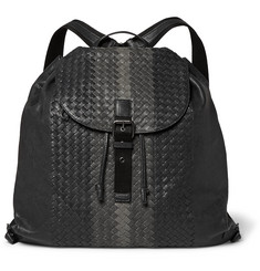 Bottega Veneta - Intrecciato Leather Backpack