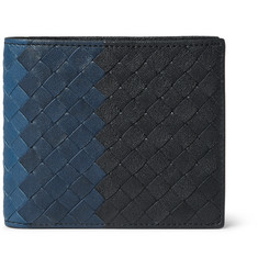 Bottega Veneta Dégradé Intrecciato Leather Billfold Wallet