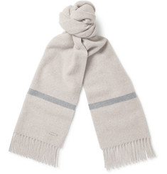 Loro Piana Striped Baby Cashmere Scarf