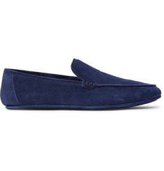 Loro Piana Walk at Home Suede Slippers