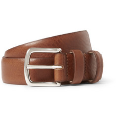 A.P.C. 3cm Brown Jeremy Leather Belt