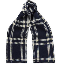 A.P.C. Saaen Checked Wool Scarf