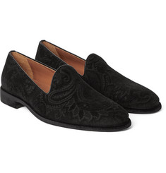Etro - Paisley-Patterned Velvet Loafers
