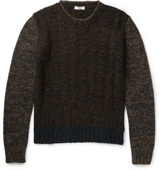 Boglioli Mélange Wool-Blend Sweater