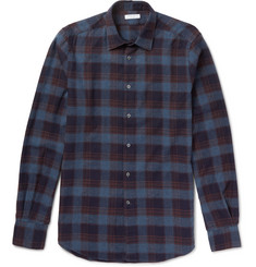 Boglioli Checked Cotton-Flannel Shirt