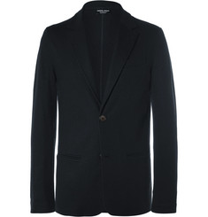 Giorgio Armani Blue Slim-Fit Unstructured Cashmere Blazer