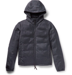 Giorgio Armani Storm System® Wool and Cashmere-Blend Hooded Down Jacket