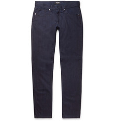 Giorgio Armani Slim-Fit Selvedge Denim Jeans