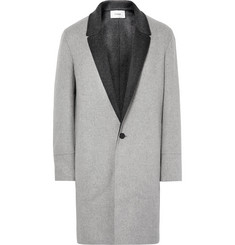 - Double-Faced Virgin Wool and Cashmere-Blend Coat